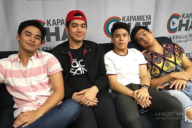 Kapamilya Confessions with Jerome, Joshua, Nash and McCoy