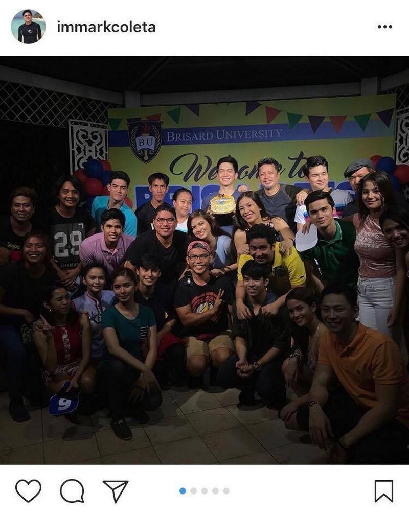 "LOOK: Joshua Garcia celebrates birthday with ""The Good Son"" family"