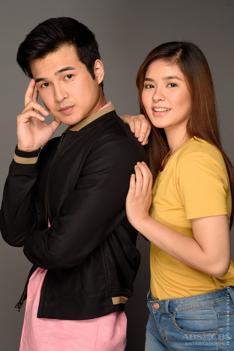 GLAM SHOTS: Loisa as Hazel and Jerome as Enzo in The Good Son