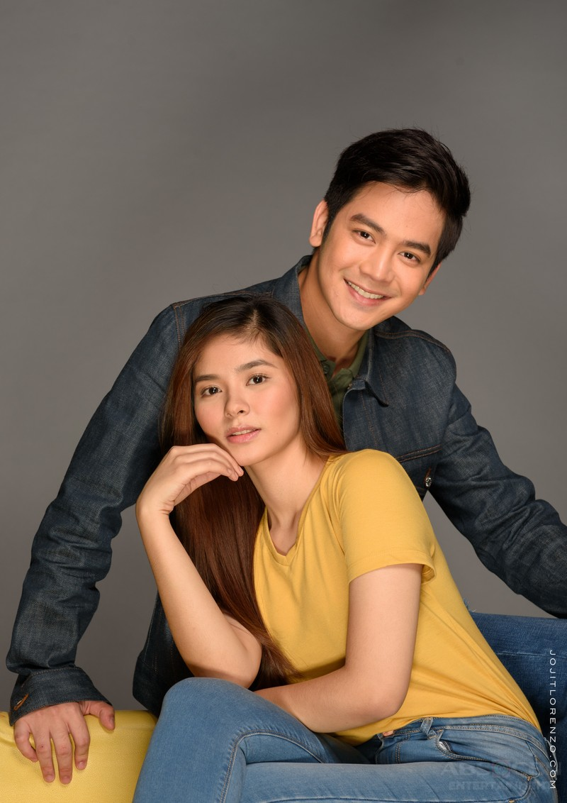 GLAM SHOTS: Joshua and Loisa as Joseph and Hazel in The Good Son