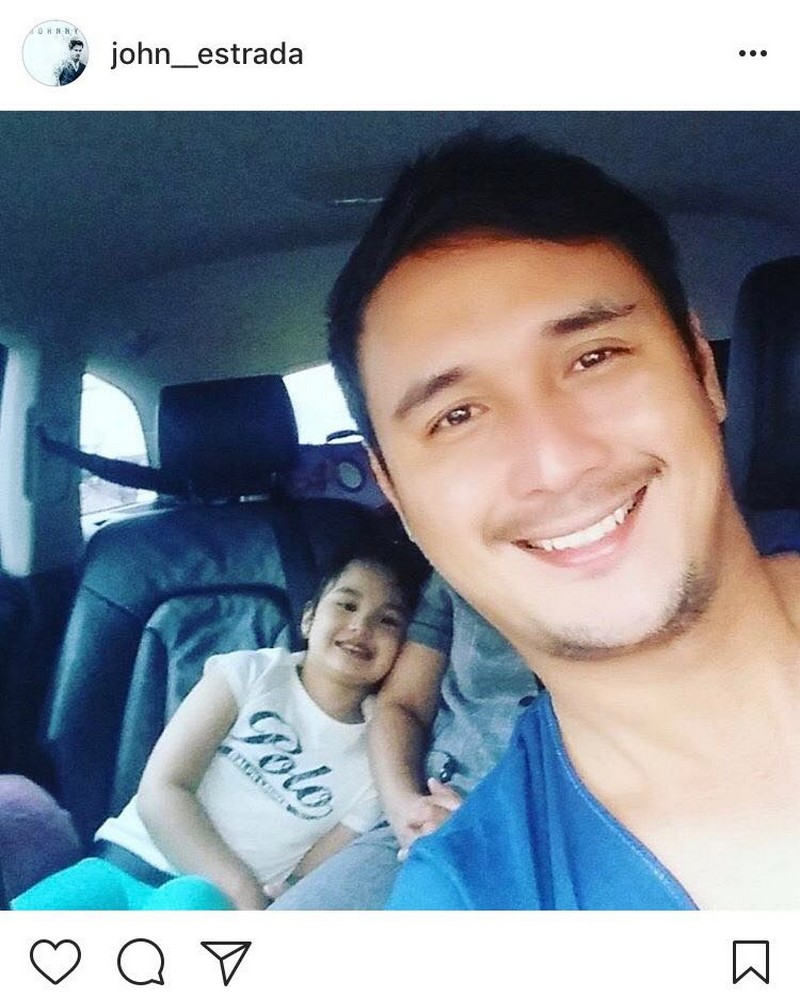 "LOOK: 23 Photos of John Estrada with his ""lovey"""