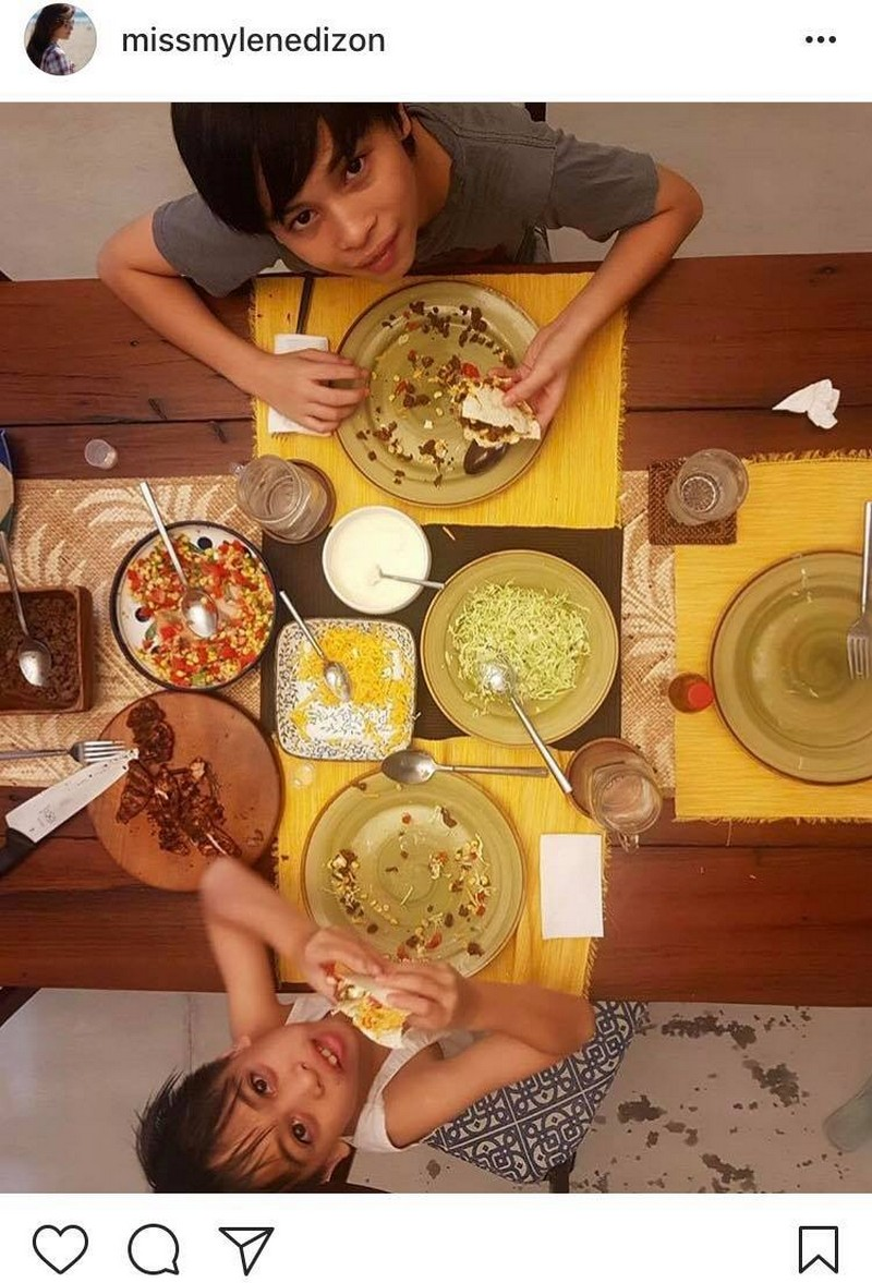 LOOK: 27 Photos of Mylene Dizon with her real-life good sons!