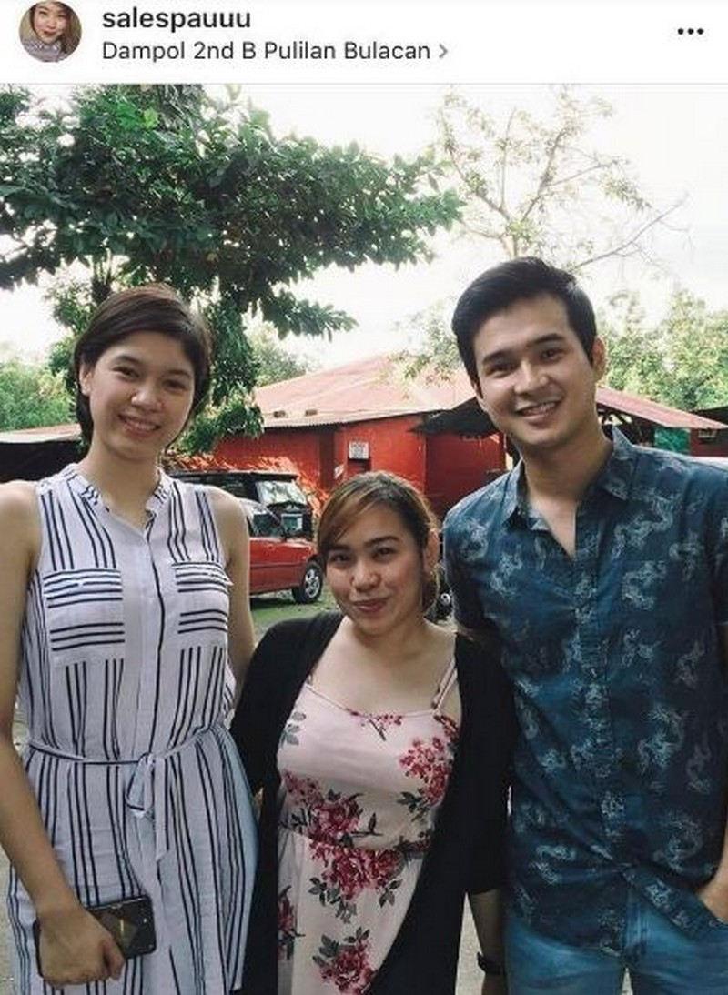 "IN PHOTOS: Jerome Ponce with his one and only ""Volleybelle"""