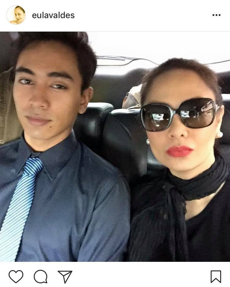 IN PHOTOS: Eula Valdez with her handsome unico hijo!